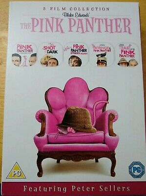 The Pink Panther 6 Disc Dvd Collectors Set. Excellent Condition