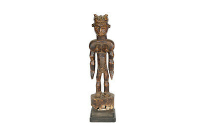 """Late 20th Century Fang African Sculpture on Base 36.5"""" - Gabon"""