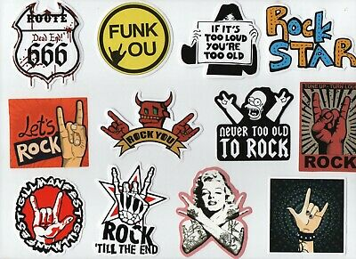 DEVIL HANDS 'Sign of the Horns' Stickers Buy 1 get 1 FREE Rock Heavy Metal Funk