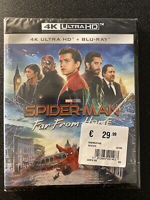Spider-Man Far From Home Film Blu Ray 4K Ultra Hd UHD HDR  DolbyVision ITA