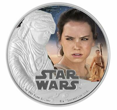 1 oz. Pure Silver Coin Star Wars - Kylo Ren: The Force Awakens (2016)