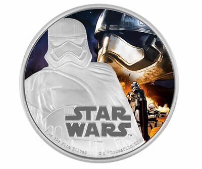 1 oz. Pure Silver Coin Star Wars - Captain Phasma: The Force Awakens (2016)