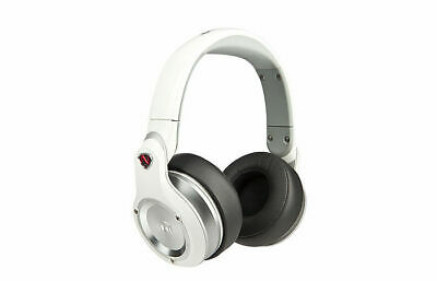 Monster Headphones Ncredible N-Pulse Wired Over Ear DJ Style White BRAND NEW