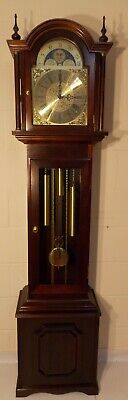 Grandfather Clock-Exc Cond/Hermle Triple Chimes/NATIONWIDE PERSONAL DELIVERIES