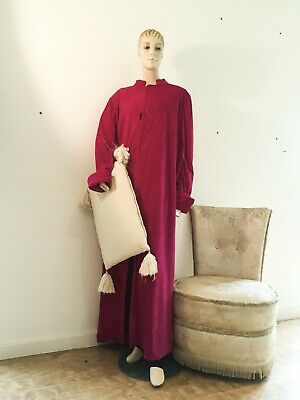 Theatre costume used. Red gown