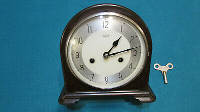 Smiths Enfield Time And Strike  Clock - Bakelite