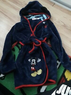 Disney Mickey Mouse Dressing Gown age 2