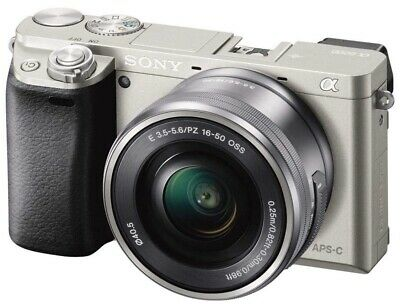 Sony Alpha A6000 Mirrorless Digital Camera w/ 16-50mm Lens (ILCE6000L/S)