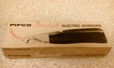 Pifco Speedcut Electric Scissors Boxed 1970'S Missing Instructions