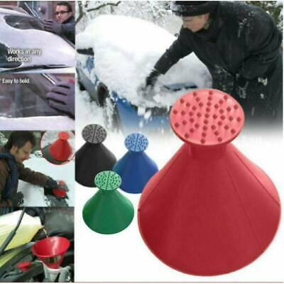 Car Snow Scraper Remover Tools Scrape Windshield Ice Scraper Winter Funnel