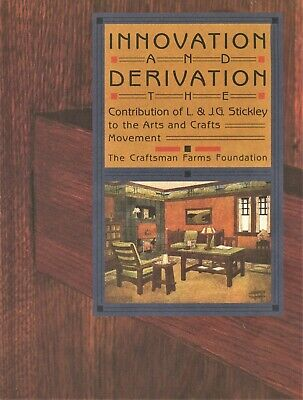 Mission Arts & Crafts L. & J.G. Stickley Furniture Decorative Arts / Book