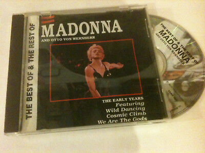 MADONNA 'The Best Of The Rest' 1989 CD EP - The Early Years - 5 Tracks