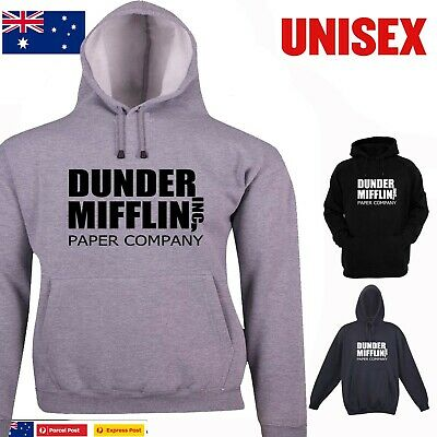 Funny Hoodie Dunder Mifflin T-Shirt The Office Aussie Store Prints design size