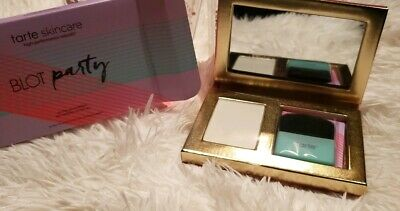 """Limited Edition Tarte """"Blot Party"""" On-The-Go Mattifiers Powder/Blotting Compact"""
