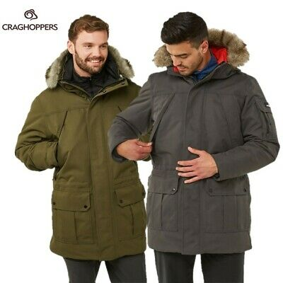 Craghoppers Kiwi 3 in 1 Giacca impermeabile con interno in pile CMP201