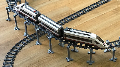 Lego City Compatible Train Set Track Bridge Supports, works with 60051 60052
