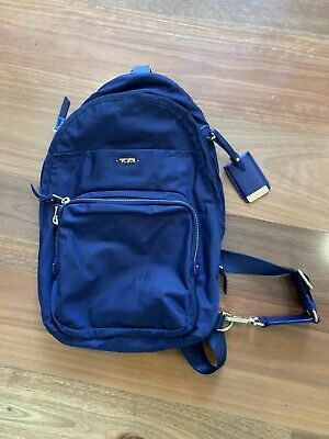 TUMI Blue Back Pack, One Strap Condition Almost New