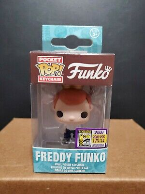 Funko Freddy LE 2000 Pocket Pop Keychain SDCC Fundays