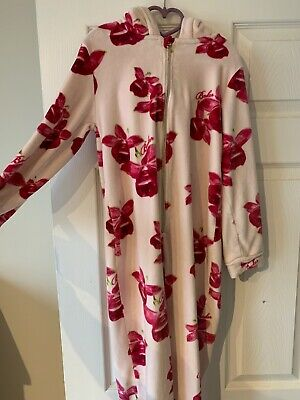 Girls Ted Baker Floral One Piece, Age 11-12, Pink in Very Good Condition
