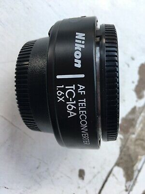 Nikon Teleconverter Tc-16A  X1.6 For Mf Lenses Up To 300Mm Converts To Af