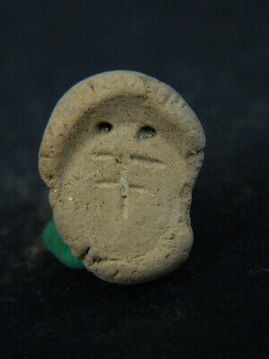 Ancient Teracotta Seal/Stamp Bactrian 300 BC No Reserve #TR7572