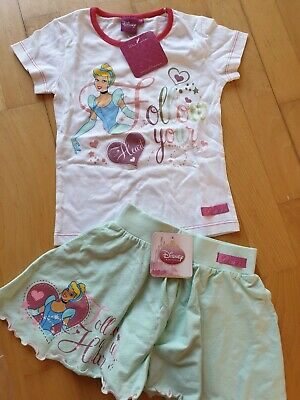 Disney Princess Cinderella Top And Skirt Set New Age 5-6 Years