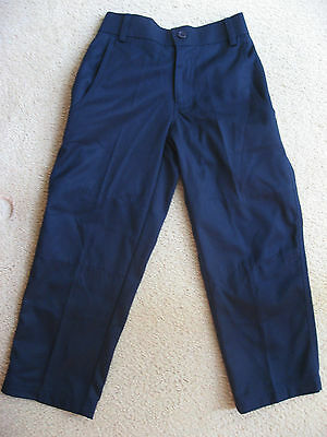 Boys School Formal Pants Navy Trousers Uniform size J4 New
