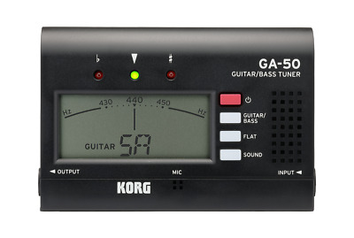 KORG GA-50 Guitar and Bass Tuner Brand new!