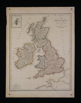 Royaume United England England by the Pierre Lapie (1779-1850) Geographer 1816