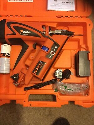 PaslodeIM360CI Framing Nailer with LithiumIon BatteryBRAND NEW INC WARRANTY CARD