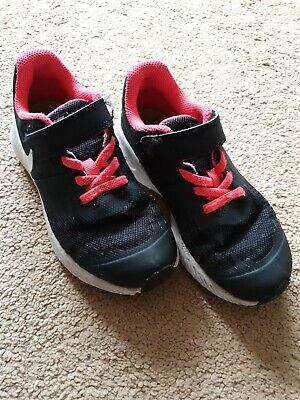 Nike Star Runner Trainers Girls Pink Size 11