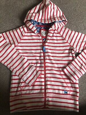 Girls Mini Boden Towelling Hoodie Age 9/10