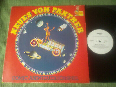 LP: Neues vom Panther - PEGGY - 1974 - Weissmuster! TOP RAR!