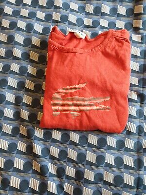 Genuine Lacoste Girls Long Sleeve Top Age 4-6 Size 8 RRP £59.99
