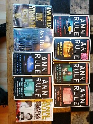 Ann Rule X9 Various Titles Paperbacks