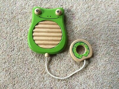 Toy Wooden Frog Musical GUIRO - bought from Tickety Boo