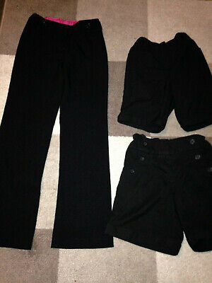Girl's school shorts and trousers - age 10, 11-12 & 12 years
