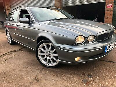 *** Beautiful Jaguar X-Type 2.5 V6 Sports Awd Estate 105K Fsh 10 Stamps ***