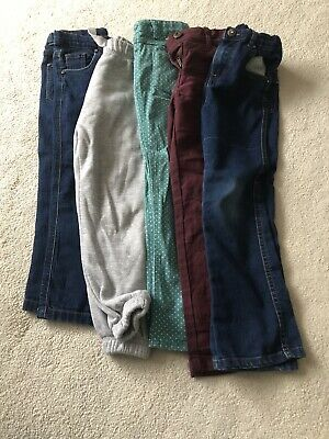 5 Pairs Of Girls Trousers Age 6