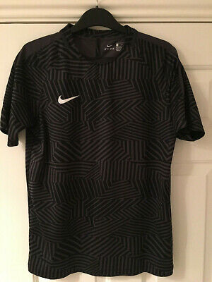 Nike Black & Grey Sports Top. Age 13-15