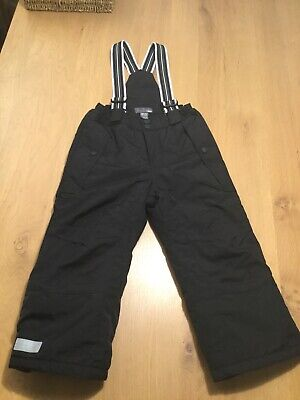 H&M waterproof winter padded trousers 3-4 years Used Excellent condition