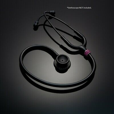 Stethoscope Charm ID tag - PINK- Yes! Fits Littmann