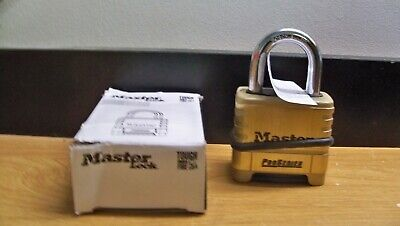 New Master Lock 1175 Pro Series Resettable Set Your Own Combination