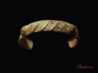 ** BEAUTIFULL  **  Ancient Roman Bronze ** BRACELET **