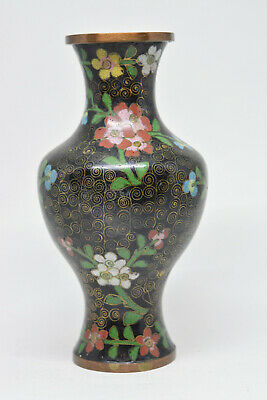 Antique Chinese Export Cloisonne Vase - 6.5 Inches tall - 🐘