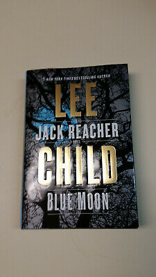 Blue Moon by Lee Child (English) Hardcover Book