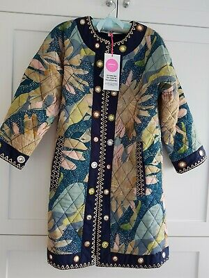Starry Night Embroidered Coat - Size 6 (NWT)