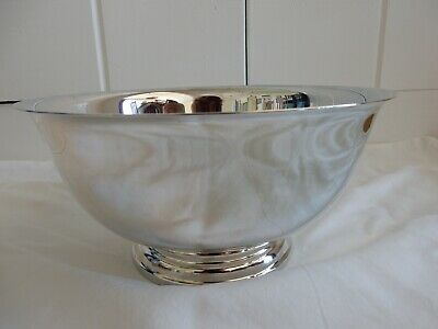 Webster-Wilcox International Silver Co. Silverplated Bowl with Plastic Liner