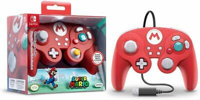 PDP SUPER MARIO Fight Pad Pro Wired Controller for Nintendo Switch