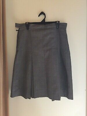 Yarra Valley Grammar School Grey Winter Skirt Size 10